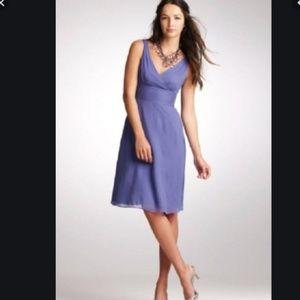 J. Crew Sophia dress in silk Chiffon NEW